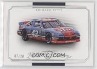 Cars - Richard Petty #/20