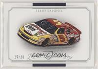 Cars - Terry Labonte [EX to NM] #/20
