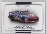 Cars - Richard Petty #/25
