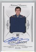 Rookie Signature Materials - Chase Elliott /25