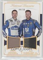 Dale Earnhardt Jr, Jimmie Johnson /10