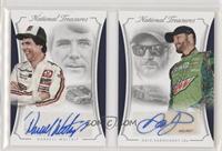 Dale Earnhardt Jr, Darrell Waltrip #/25