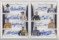 Darrell Waltrip, Jimmie Johnson, Kevin Harvick, Kyle Busch, Matt Kenseth, Richa…