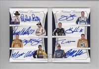 Darrell Waltrip, Jimmie Johnson, Kevin Harvick, Matt Kenseth, Richard Petty, Ru…