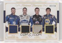 Chase Elliott, Jimmie Johnson, Dale Earnhardt Jr, Kasey Kahne /10