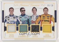 Chris Buescher, Greg Biffle, Ricky Stenhouse Jr., Trevor Bayne #/10