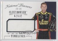 Clint Bowyer #/25