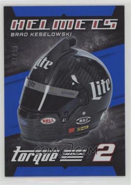 2016 Panini Torque - Helmets - Blue #H6 - Brad Keselowski /99