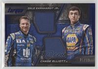 Chase Elliott, Dale Earnhardt Jr #/99