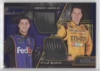 Denny Hamlin, Kyle Busch #/99