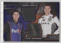 Carl Edwards, Denny Hamlin /99