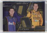 Kyle Busch, Denny Hamlin #/10