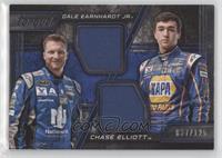 Dale Earnhardt Jr, Chase Elliott #/125