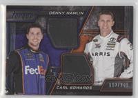 Denny Hamlin, Carl Edwards #/249