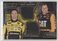 Paul Menard, Ryan Newman /249