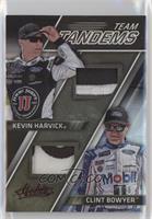 Kevin Harvick, Clint Bowyer #/25