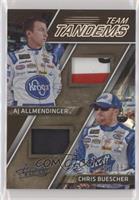AJ Allmendinger, Chris Buescher #/99