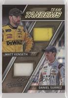 Matt Kenseth, Daniel Suarez [EX to NM] #/99