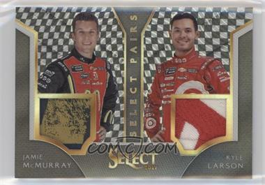 2017 Panini Select - Select Pairs - Checkered Flag Prizm #JM-KL - Jamie McMurray, Kyle Larson /1