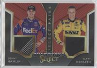 Denny Hamlin, Matt Kenseth #/99