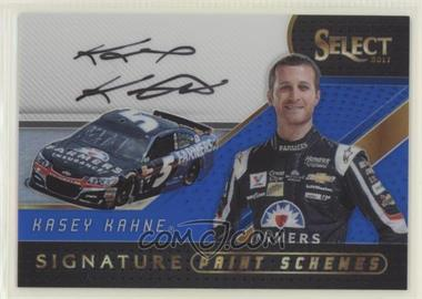 2017 Panini Select - Signature Paint Schemes - Blue Prizm #SPS-KK - Kasey Kahne /50