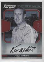 Rex White #/49