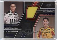 Brad Keselowski, Joey Logano [Noted] #/99