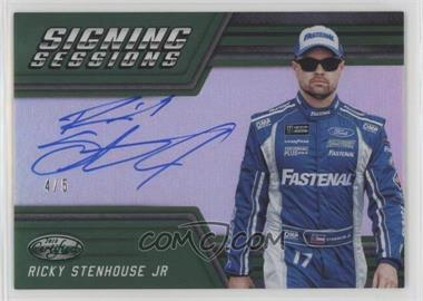 2018 Panini Certified - Signing Sessions - Green #SS-RS - Ricky Stenhouse Jr /5