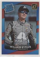 Rated Rookies - William Byron #/99
