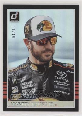 2018 Panini Donruss NASCAR - [Base] - Press Proof #139 - Retro 1985 - Martin Truex Jr. /49