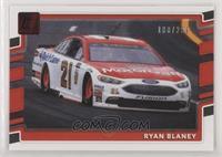 Cars - Ryan Blaney #/299