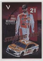 Paul Menard #/49