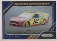 Acceleration - Ryan Blaney #/75