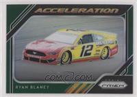 Acceleration - Ryan Blaney #/99