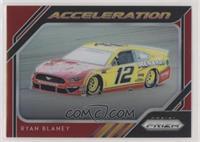 Acceleration - Ryan Blaney #/50