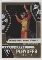 Playoff Winners - Joey Logano #/25