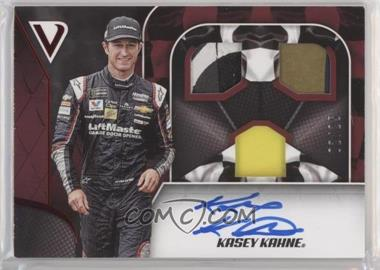 2019 Panini Victory Lane - Triple Swatch Signatures - Red #TSS-KK - Kasey Kahne /25
