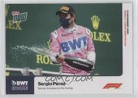 Sergio Perez #/1,262