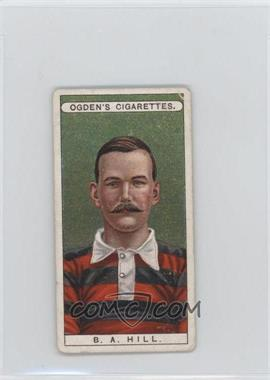 1908 Ogden's Famous Footballers - Tobacco [Base] #27 - Basil Hill [Poor to Fair]