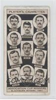 Blackburn Rovers, 1891 [Good to VG‑EX]