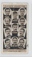 Association Cup Winners, Aston Villa 1897 [Good to VG‑EX]