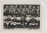 E Series - Nottingham Forest F.C. [GoodtoVG‑EX]