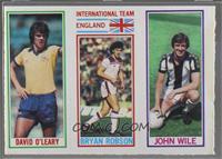 David O'Leary, Bryan Robson, John Wile