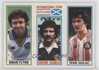 Ivan Golac, Graeme Souness, Brian Flynn