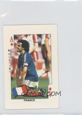 1986 Dandy Gum - [Base] #AD - Michel Platini