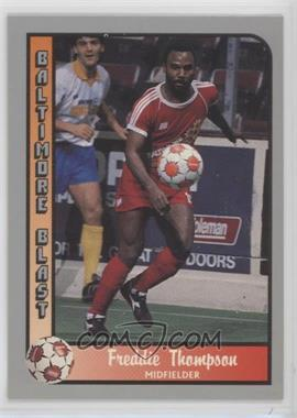 1990-91 Pacific MSL - [Base] #100 - Freddie Thompson
