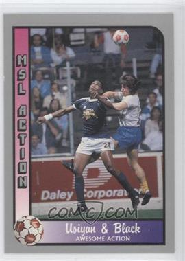 1990-91 Pacific MSL - [Base] #206 - Thompson Usiyan, Ralph Black