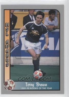 1990-91 Pacific MSL - [Base] #215 - Terry Brown