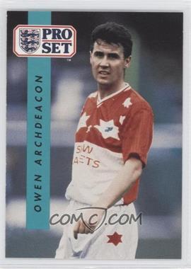1990-91 Pro Set - [Base] #321 - Owen Archdeacon