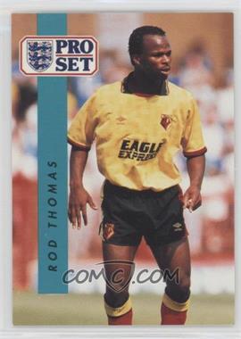 1990-91 Pro Set - [Base] #327 - Rod Thomas
